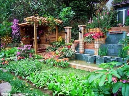 别墅园林景观设计中,你菜地了吗